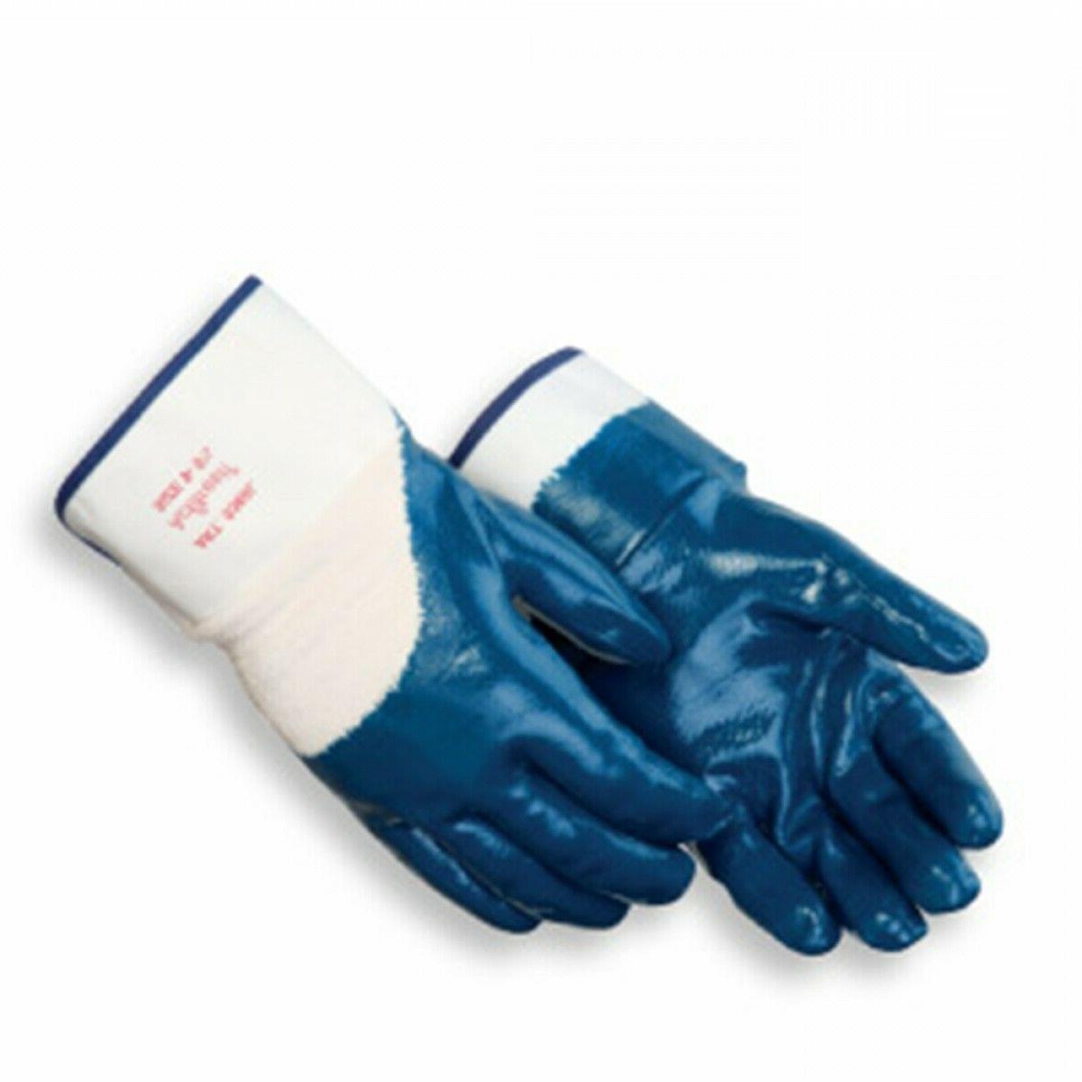 9460sp large nitrile gloves fully coated safety