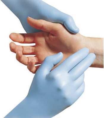 Glove, Powder Length, 6 Thick, X-Small