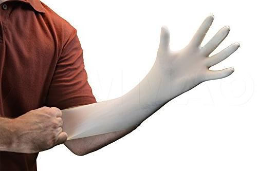 AMMEX Latex - Gloveworks - Industrial, Large, White