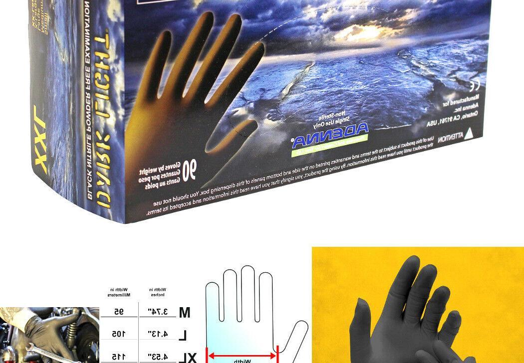 Adenna DLG679 Dark Light 9 mil Nitrile Powder Free Exam Glov