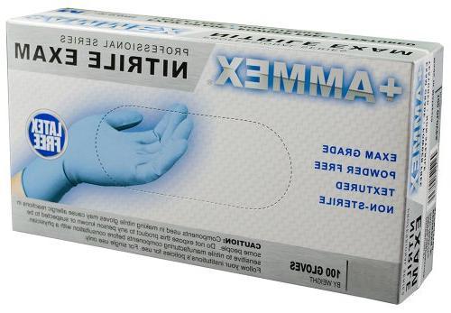 +Ammex Grade Glove, Length, Medium,