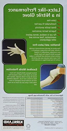 Kirkland Exam Gloves, Size Med. 200-Count