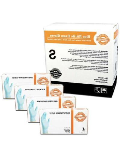 SupplyMaster - SMBLNE3S - Exam Nitrile Gloves - Disposable,