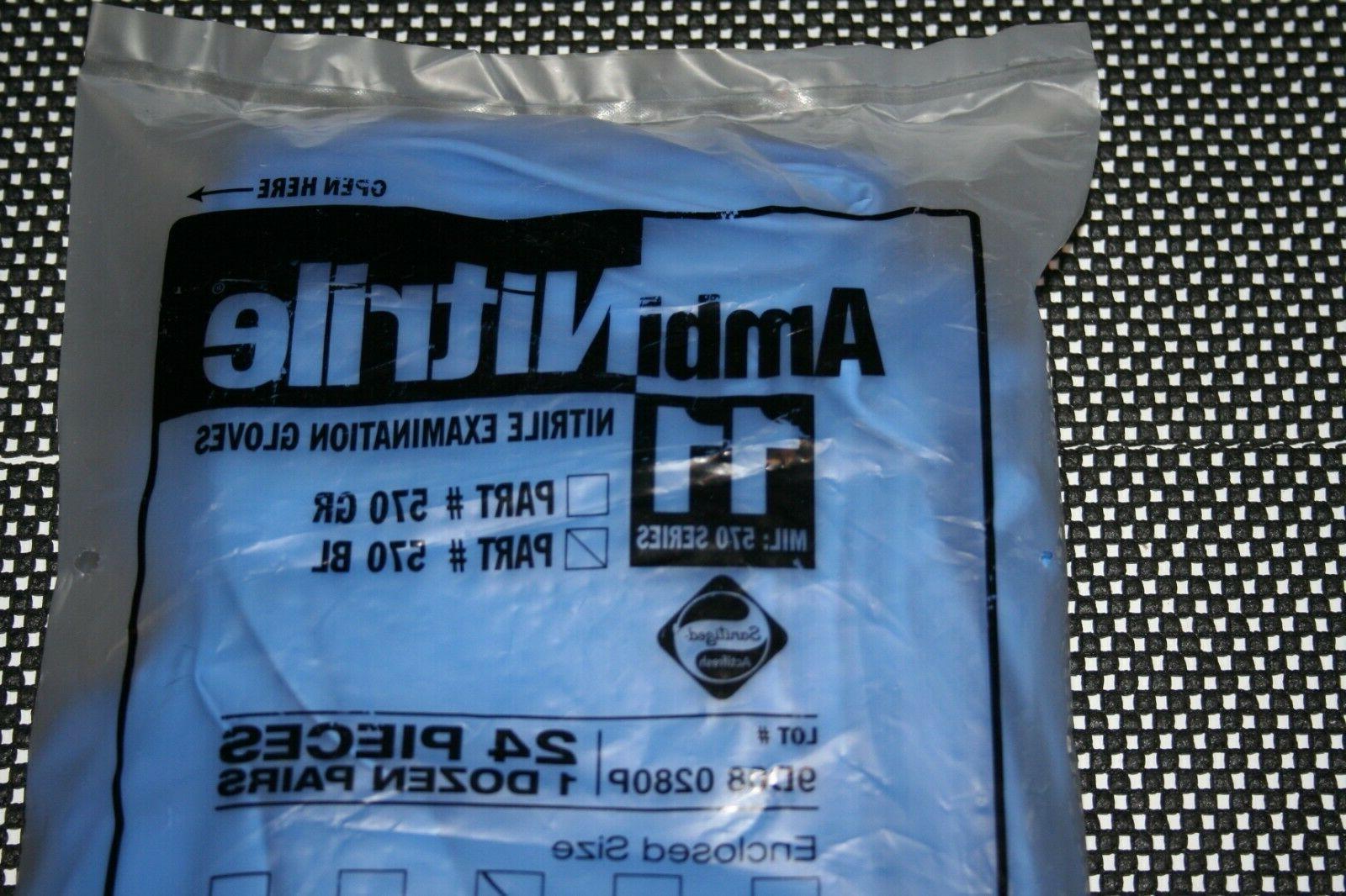ambinitrile nitrile examination gloves 11 mil 570
