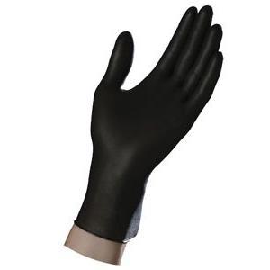 ambitex black nitrile single use