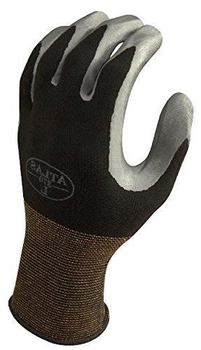 12 Pack 370BBK Nitrile Tough Gloves - Small