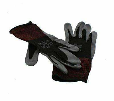 4 Pack Showa Atlas 370BLK Atlas Nitrile Tough Gloves - Small