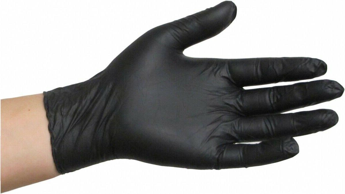Diamond Gloves Black Advance Nitrile Powder