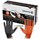 Halyard Health BLACK-FIRE 44757 Nitrile Exam Gloves, Medium,