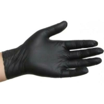 SKINTX Black Nitrile Disposable Gloves - Size X-Large, Great