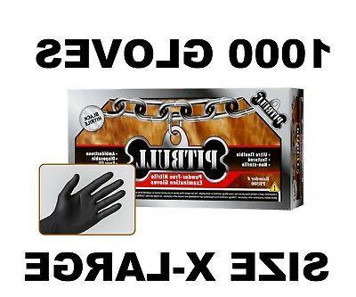 PITBULL Nitrile Gloves, Case of 1000 XL