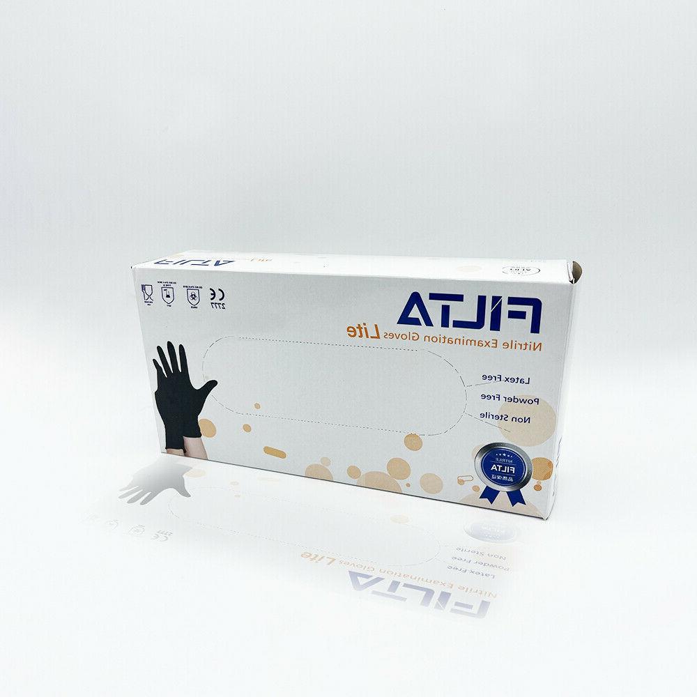 BLACK Gloves DUTY Powder free 50 / / Case