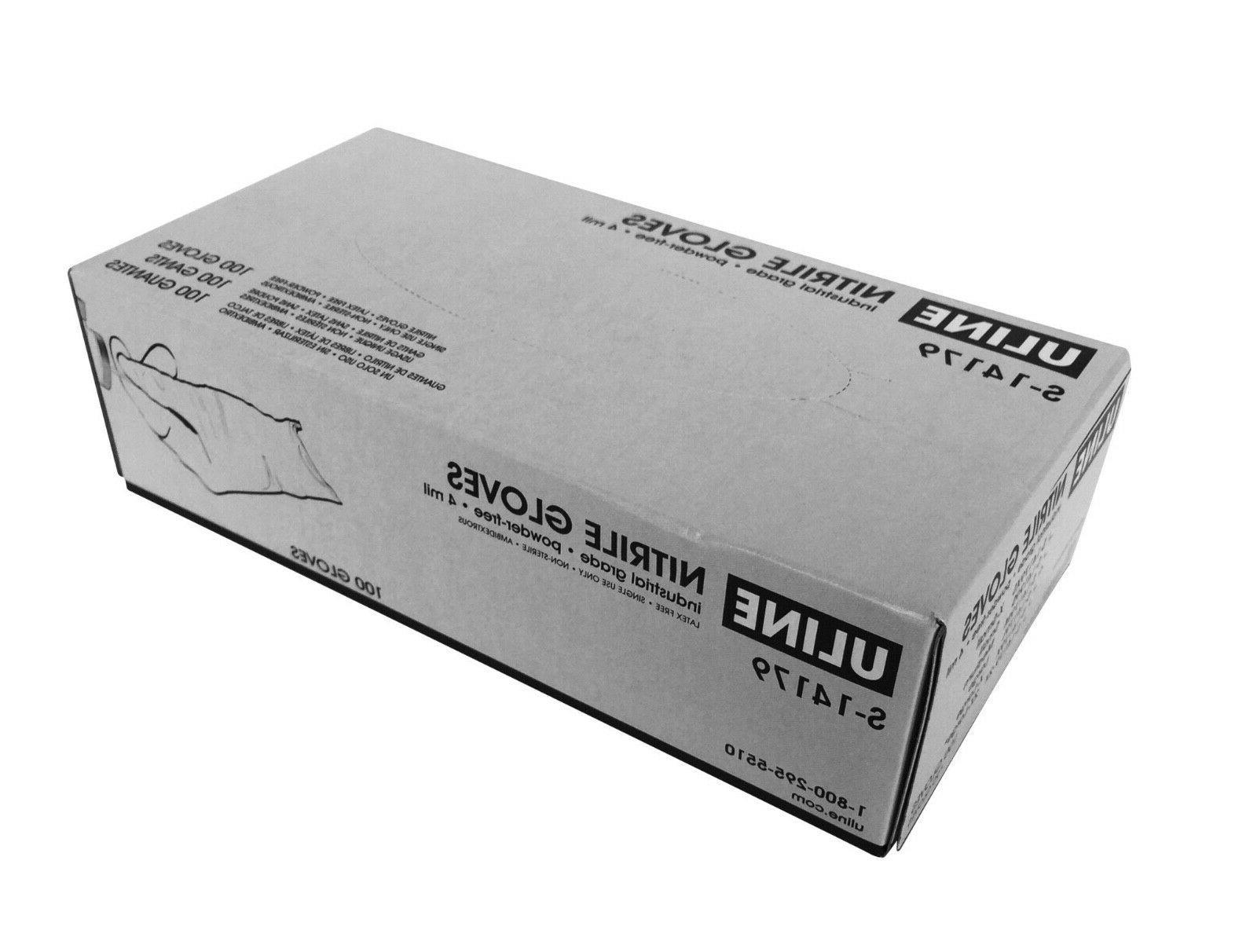 BLACK free Gloves PVC 50 100 PCS
