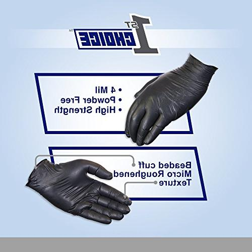 1st 4 Mil Gloves, Case of 1000 - Exam/Medical, Latex Free