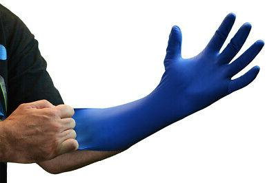 GlovePlus Blue 14-Mil Latex Disposable Gloves, -