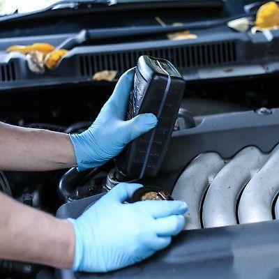 1st Blue Nitrile Industrial Gloves