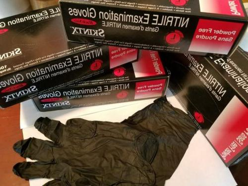 Box of Nitrile Gloves Large. Brand