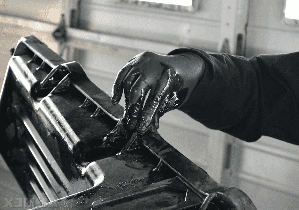 Box of 100 Nitrile Gloves Slip Resistant XL
