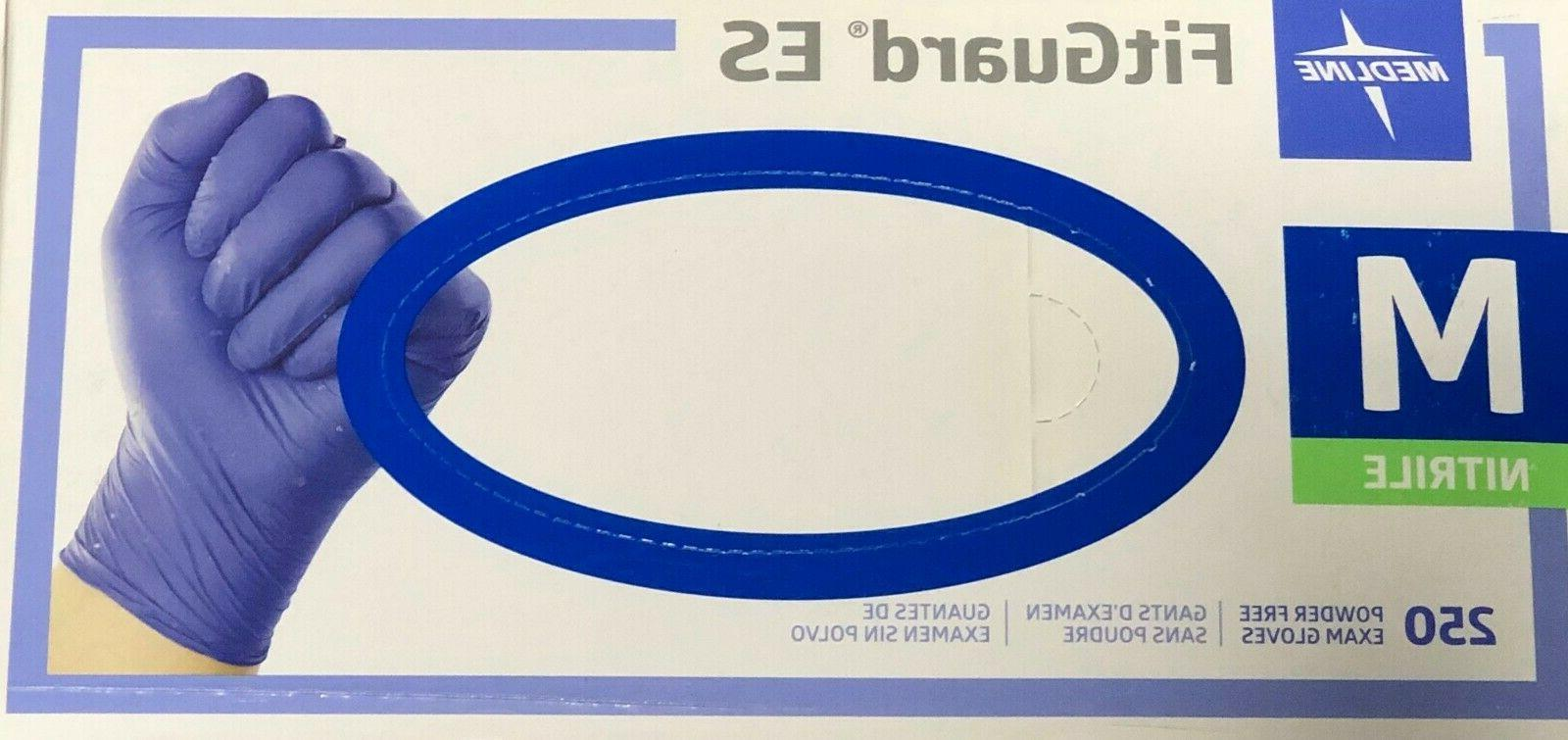 box of 250 fitguard es medium powder