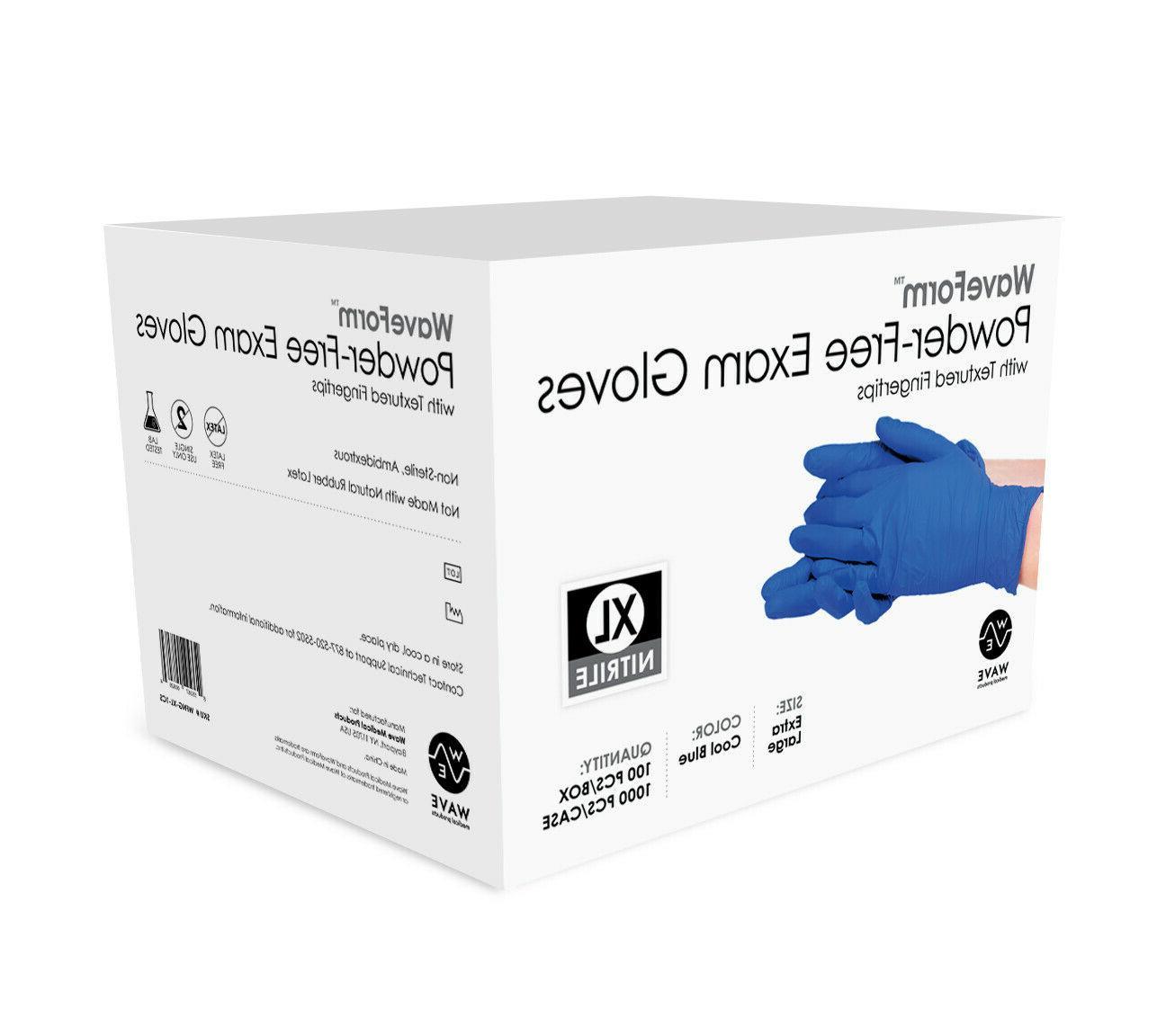 Premium Medical Exam Latex Free Disposable Gloves