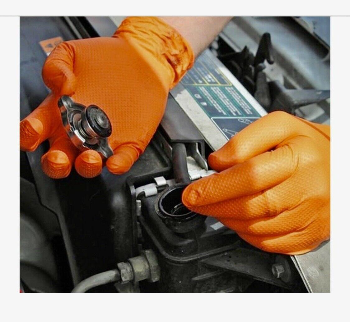 Adenna Orange Powder Free Gloves of