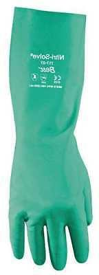Chemical Resistant Gloves,Nitrile,XS,PR SHOWA 717-06