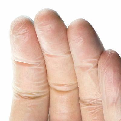 AMMEX Clear Medical Vinyl Exam Latex Gloves