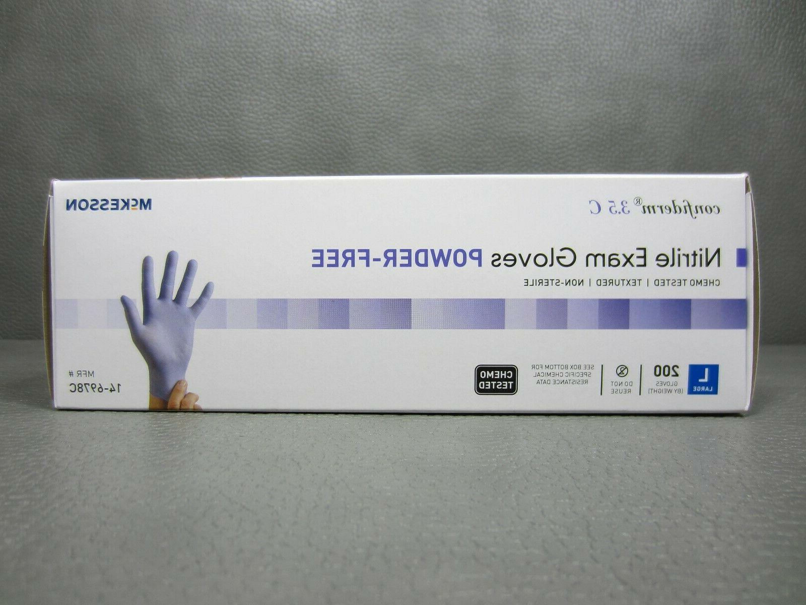 McKesson Confiderm 3.5C Exam Gloves Chemo Tested of 200