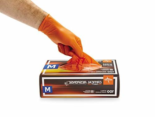 Nitrile Exam Orange