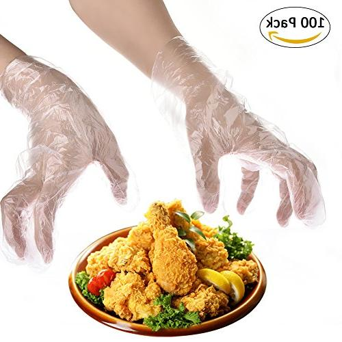 disposable gloves multipurpose clear