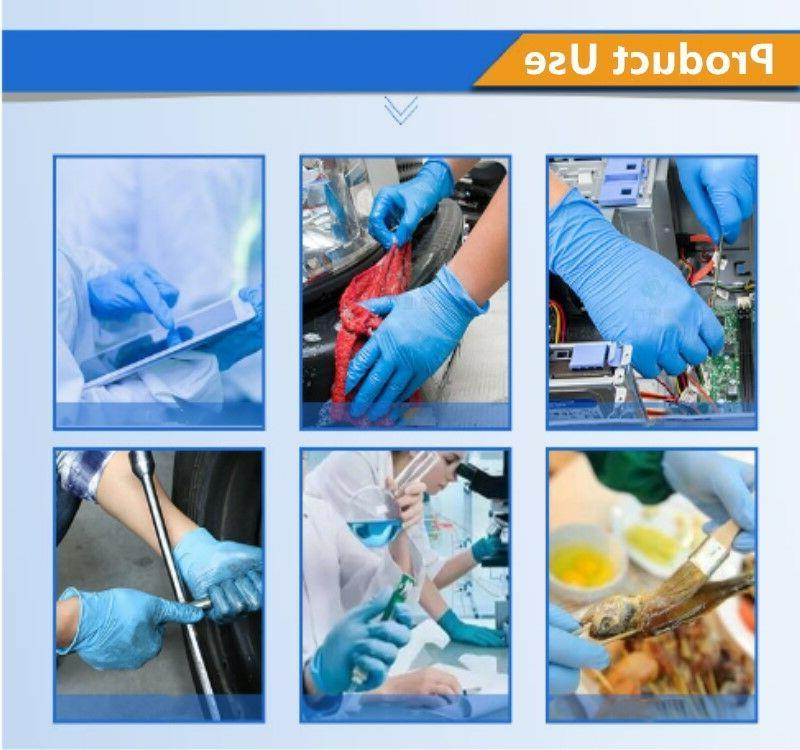 Disposable Nitrile Exam Medical Gloves Free Industrial