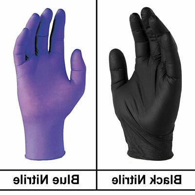 disposable nitrile gloves powder free strong non