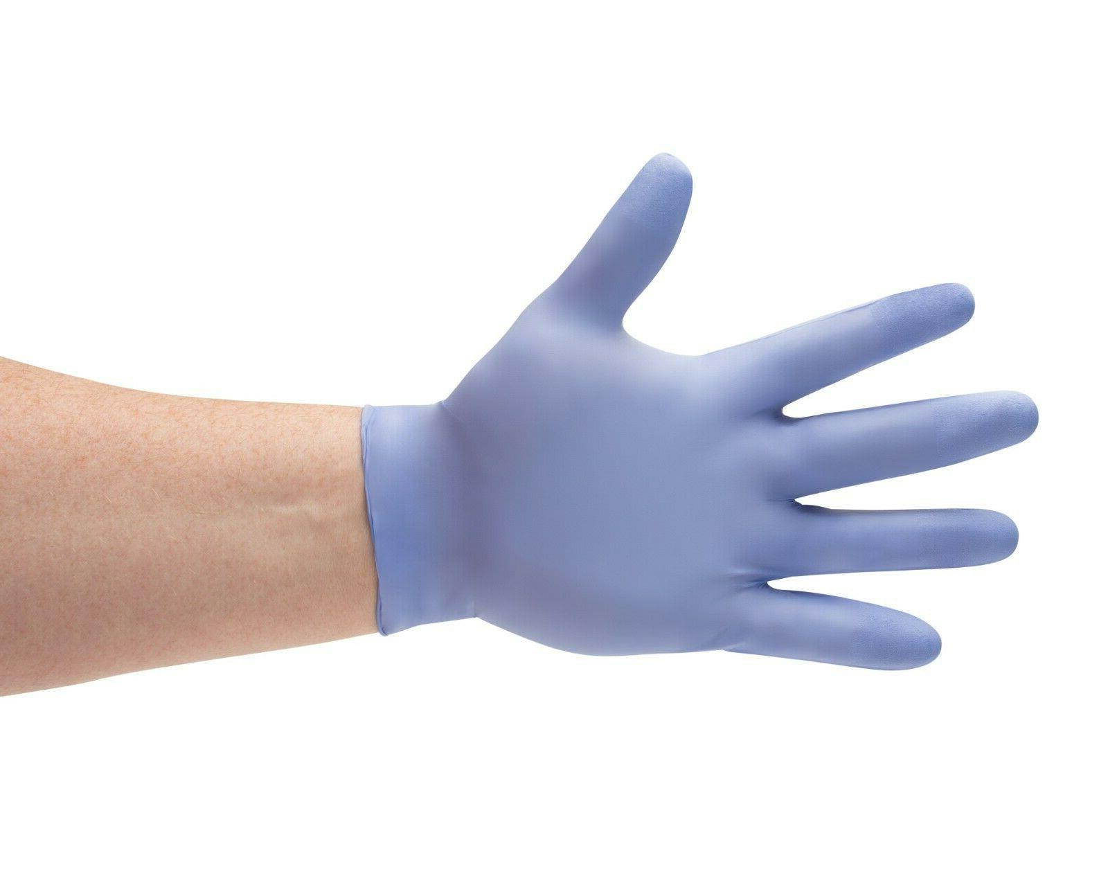 disposable powder free nitrile medical exam gloves
