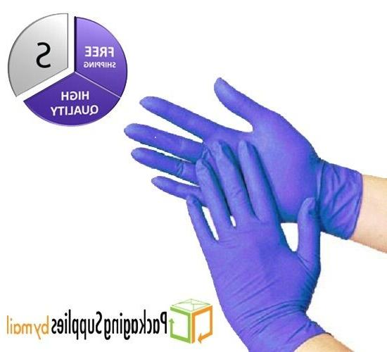200 pcs Disposable Powder Free Nitrile Medical Economy Exam
