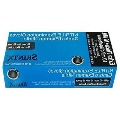 Skintx 10 Nitrile Gloves Box