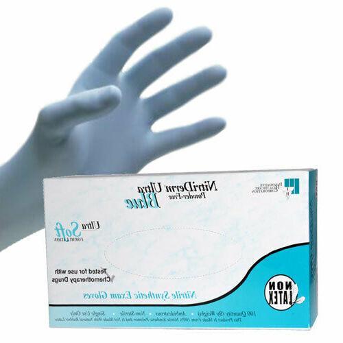 exam nitrile gloves latex free powder free