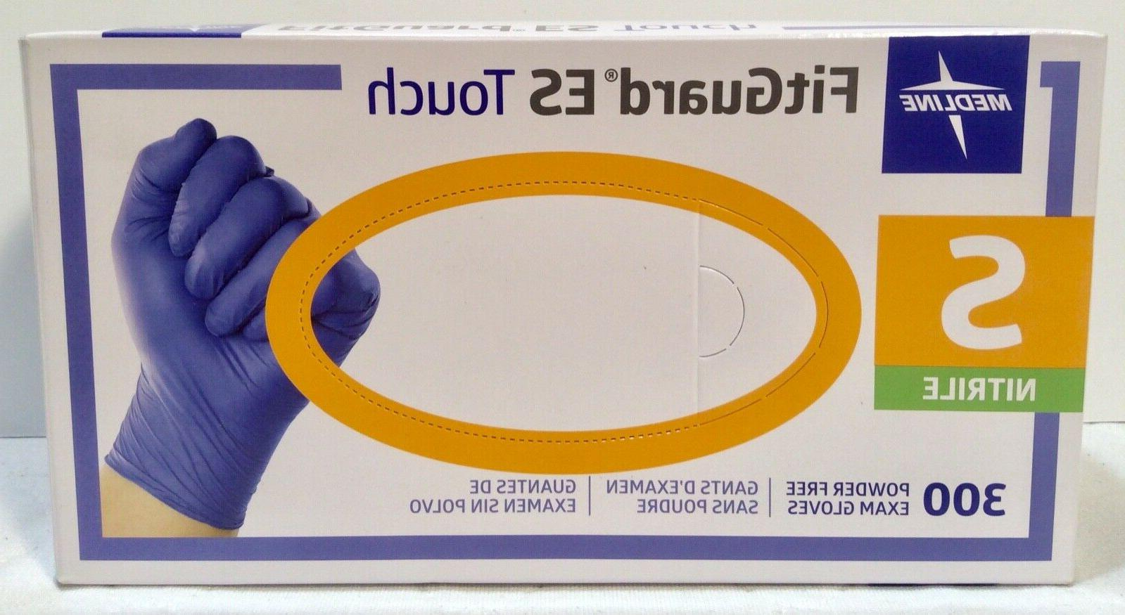fitguard es touch nitrile exam gloves powder