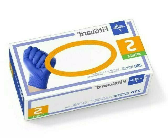 fitguard nitrile disposable exam gloves fg2501 250