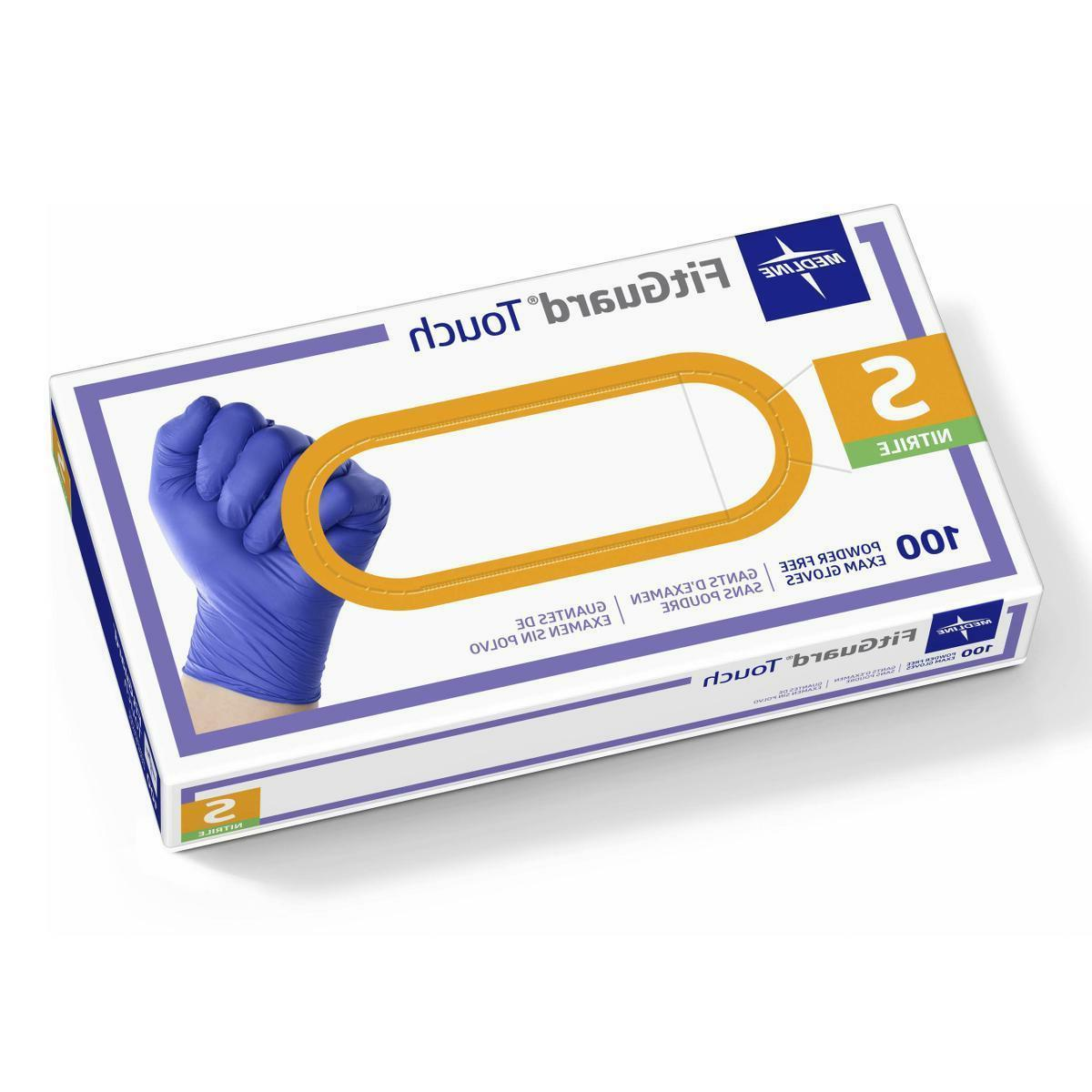 FitGuard Nitrile Exam Gloves