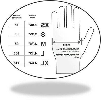 FITT® Nitrile Powder Gloves - Non-Latex