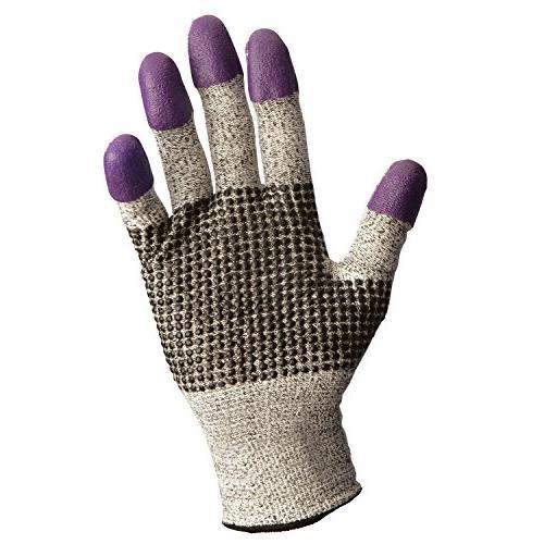 Jackson Safety* G60 Purple Nitrile Gloves, Medium/Size 8, Bl