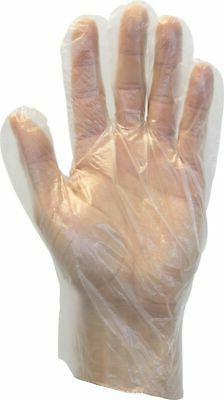 The Safety Zone GDPE-MD-E-100 Powder Free Polyethylene Glove