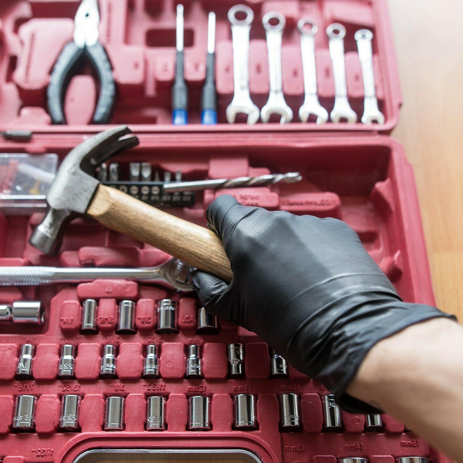 Latex Free 5 Mil Mechanic Disposable