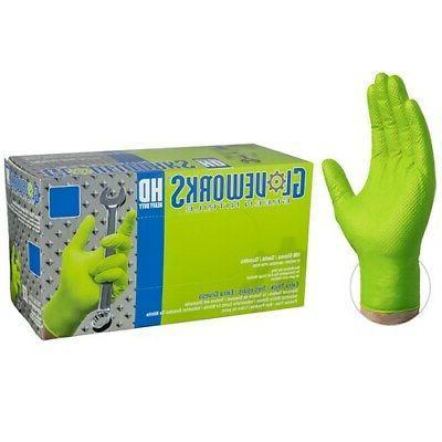 Ammex Nitrile Gloves- Large- GWGN46100