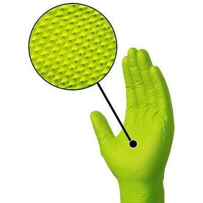 gloveworks green nitrile gloves large 100ct box
