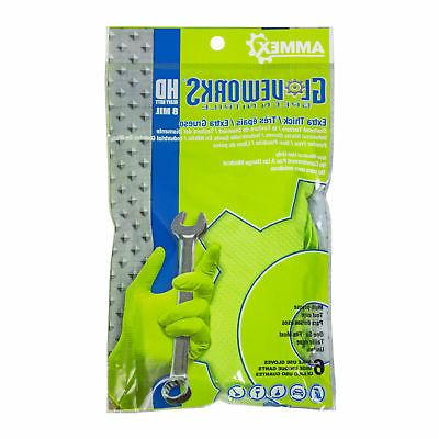 gloveworks green nitrile latex free disposable gloves