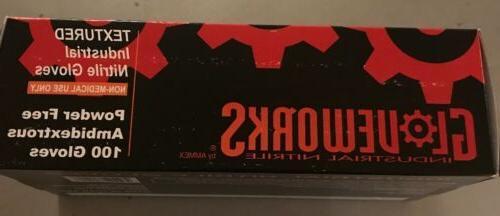 Gloveworks Black Powder Free AMMEX-GWBN Box
