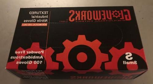 gloveworks hd black nitrile powder free industrial
