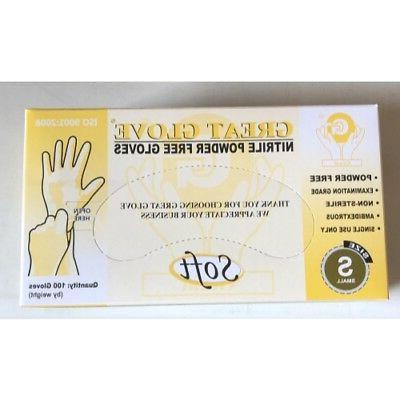 great glove soft nitrile exam powder free