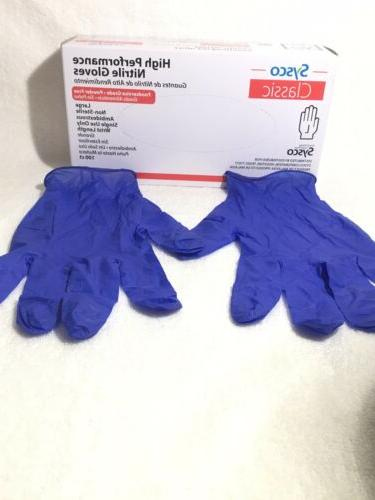 Sysco Gloves Powder Free 100Ct Choose Your